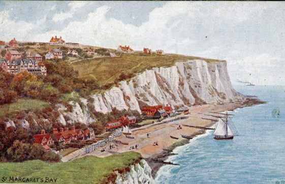 St Margaret's Bay from Ness Point. pre 1920