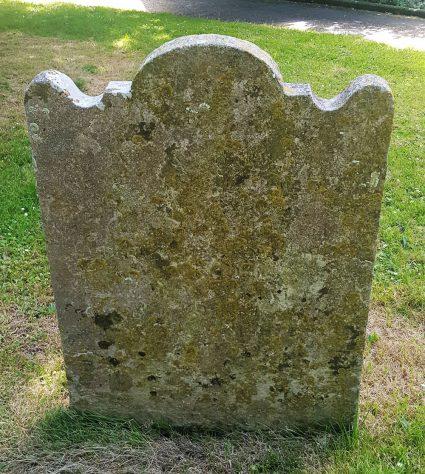 Gravestone of BURVILL William 1797; BURVILL Ann 1805; BURVILL 2 infants