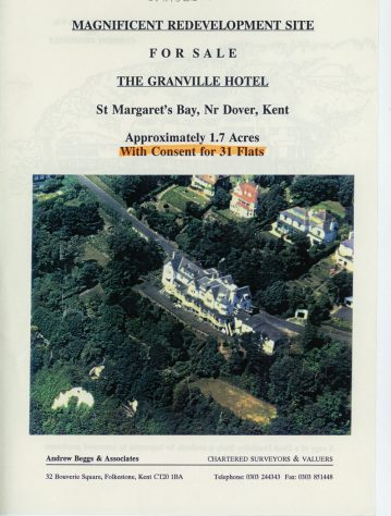 Granville Hotel Site: For Sale 'Flyer'