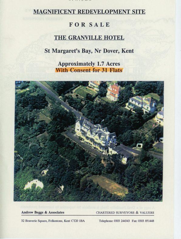 Granville Hotel site, Hotel Road: For Sale 'Flyer'