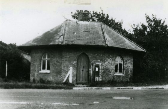 The Round House positioned at the Station Road and Dover/Deal road junction
