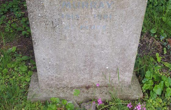 Gravestone of MURRAY Patrick John 1981