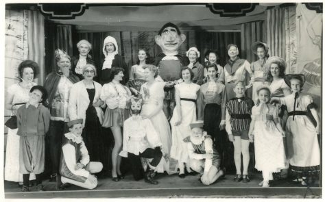 Scenes from St Margaret's Players Pantomime 'Humpty Dumpty'.1958