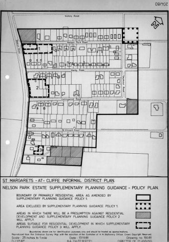 Nelson Park Estate plan (supplementary planning guidance 17 November 1981 from Director of Planning DDC)