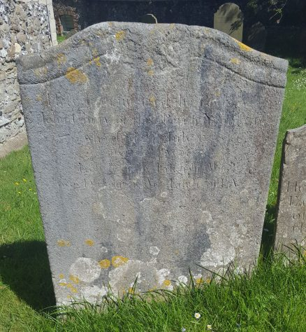 Gravestone of CHITTY John 1733