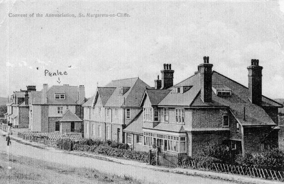 Penlee School and the Convent, The Droveway. c1906