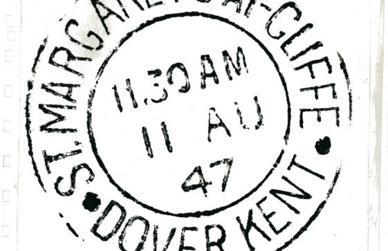 Post Office franking mark for St Margaret's at Cliffe. 1947
