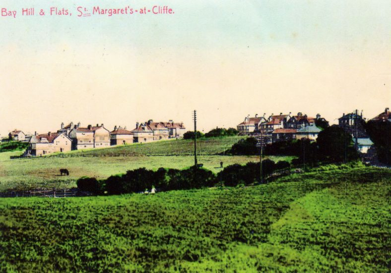 Bay Hill from Reach Meadow. early 20th C