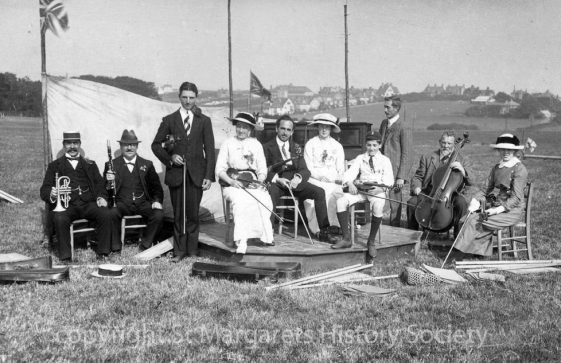 Village Orchestra at St Margaret's Sports Day. c1911