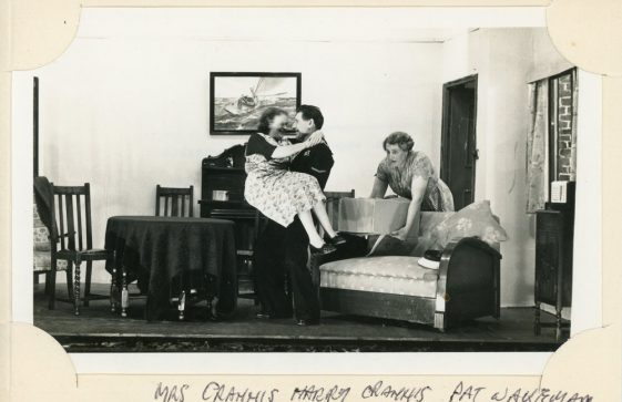 Scene from an unidentified St Margaret's Players production