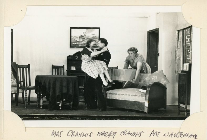 A scene from an unidentified St. Margaret's Players production