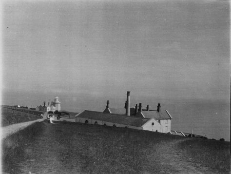 Lower South Foreland Lighthouse, the Engine House. Post 1872.