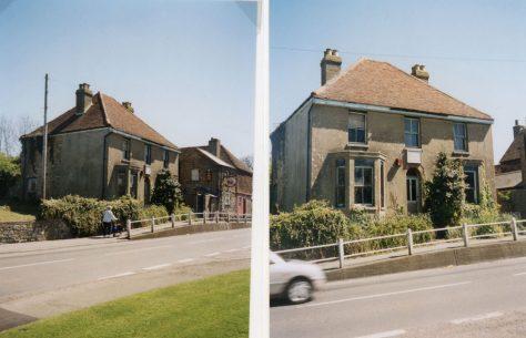 Olive Cottage, Station Road. Spring 2001