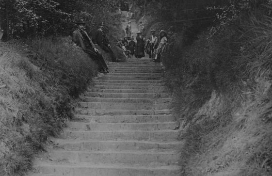 Long Steps down to the Bay. 20th century