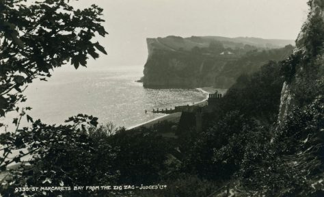 Zigzag Steps and St Margaret's Bay. 1926