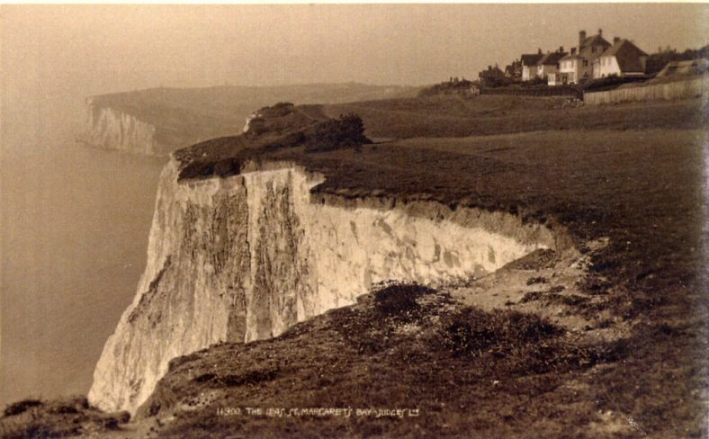 East Cliff and Ness Point from The Leas. 1927-1930