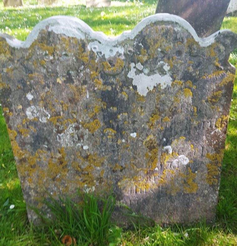 Gravestone of MILLER Richard Raisell 1763; MILLER John 1746   Dawn Sedgwick