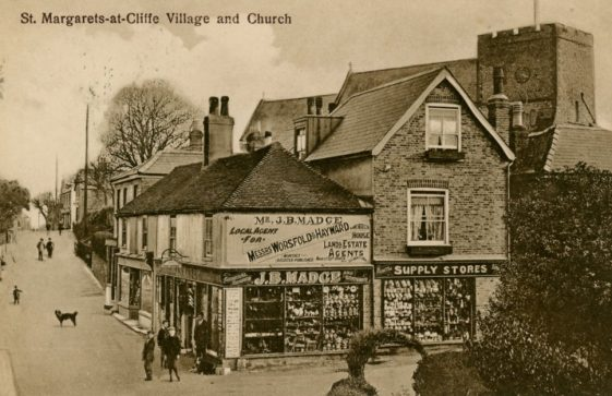 High Street and Madge's Stores. postmark 1928
