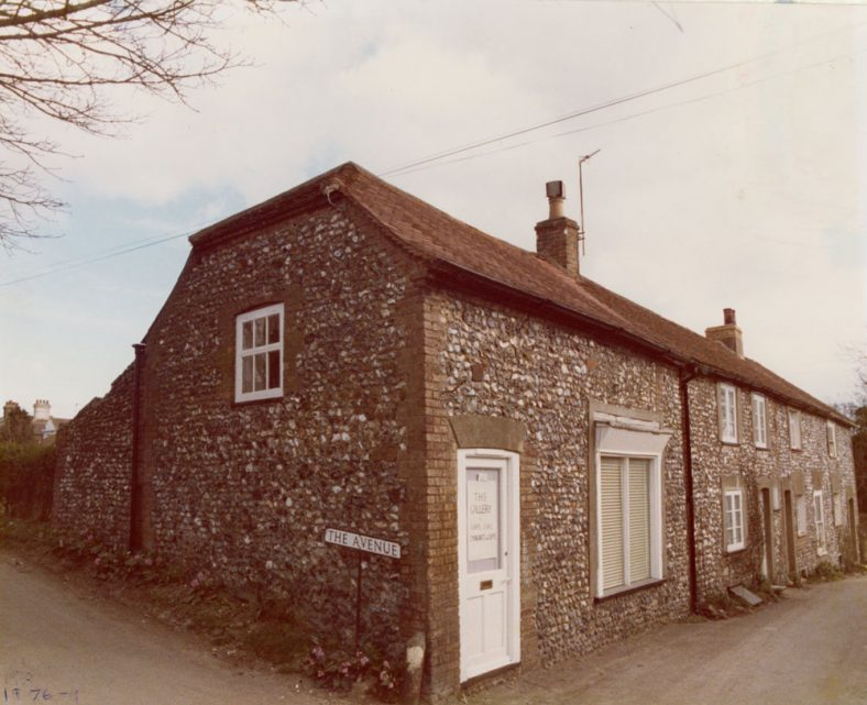 'The Gallery' No 1 Chapel Cottages. 1976