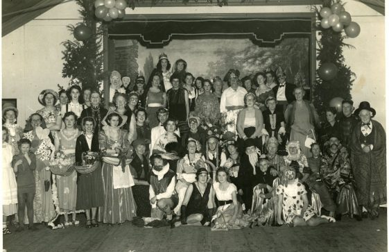 St Margaret's WI Christmas Party 1955