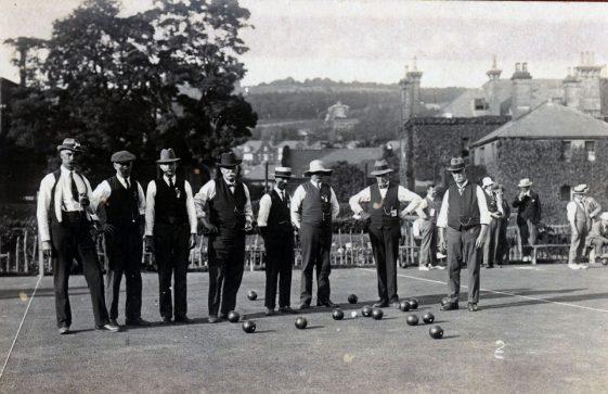 St Margaret's Bowls Club. c1914