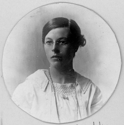 Portrait of Annie Sharpe. early 20thc