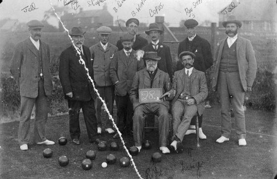 Bowls Club Team. c1900