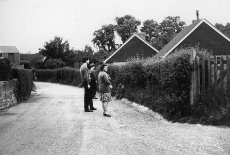 Amy Temple Cottages, Chapel Lane. 1968