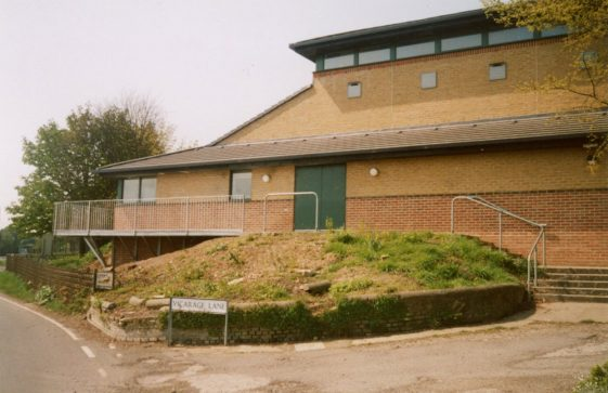 New Walkway for St Margaret's Hall. 2004