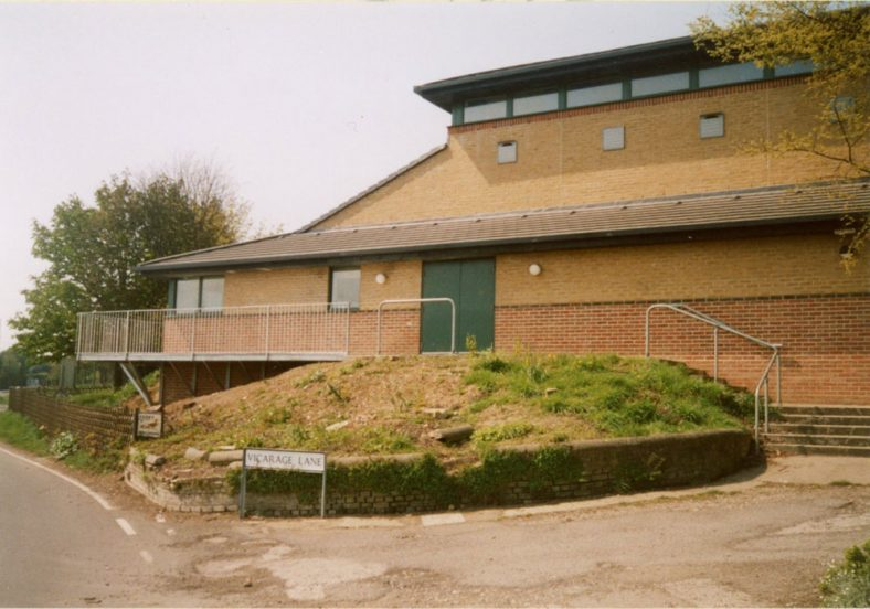 New Walkway for St. Margaret's Hall. 2004