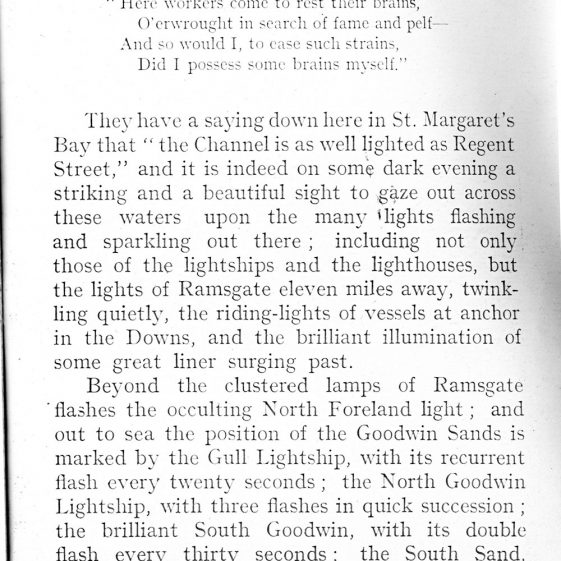 Extract from 'The Kentish Coast' by C J Harper c1914 | Harper C.J.