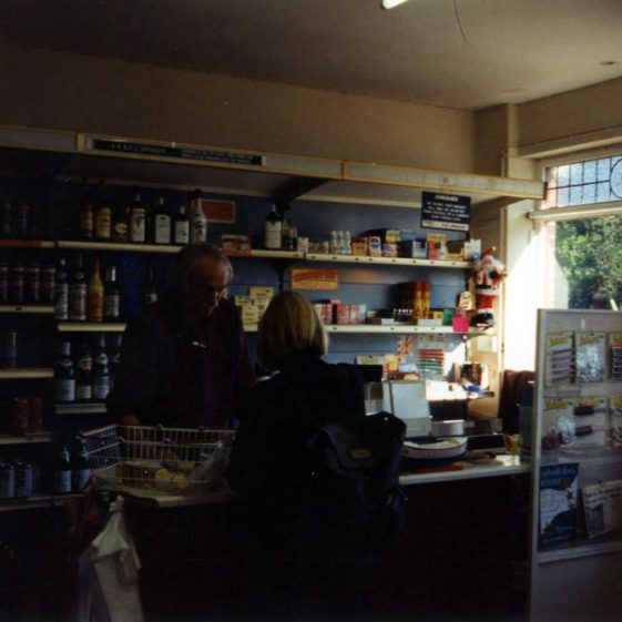 The two shops in The Droveway used as Grocers. 1994