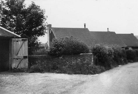 Amy Temple Cottages, Chapel Lane. c1960s