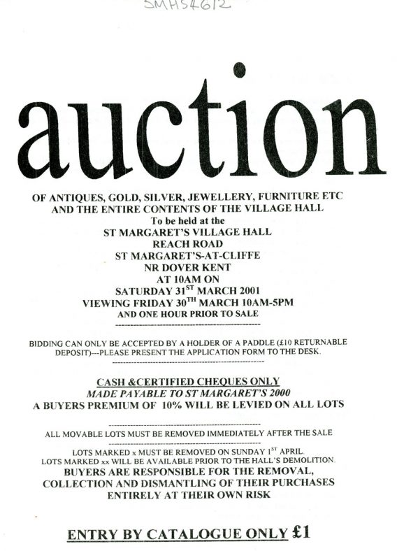 Auction of Auctions Flyer 2001