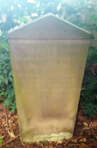 Gravestone of FARRIER Collett 1861