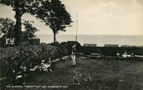 The Green Man, the garden. early 20th c