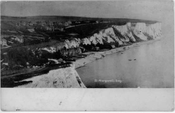 St Margaret's Bay from Ness Point. postmark 1904
