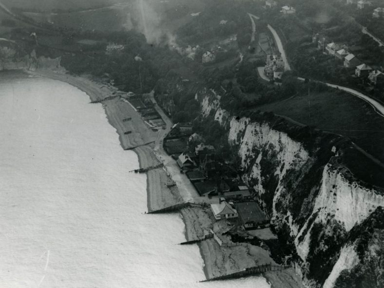 Aerial photograph of St Margaret's Bay. c1920