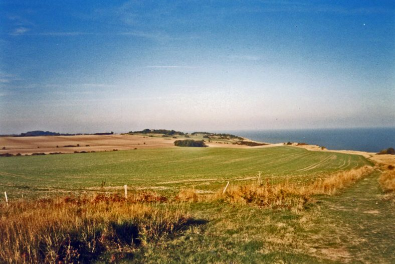 Hope Farm from Leathercote Point, 2003