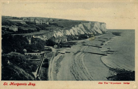 St Margaret's Bay from Ness Point. early 20thc