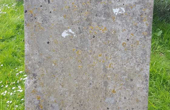Gravestone of TUCKER Elizabeth 1798; TUCKER John Walter 1803