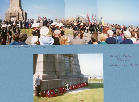 67th Dover Patrol Memorial Service. 19th June 1988