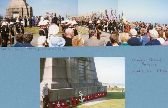 67th Dover Patrol Memorial Service. 19th June 1988