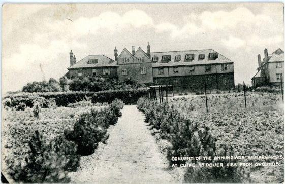 Convent of the Annunciade, gardens and rear of building. undated