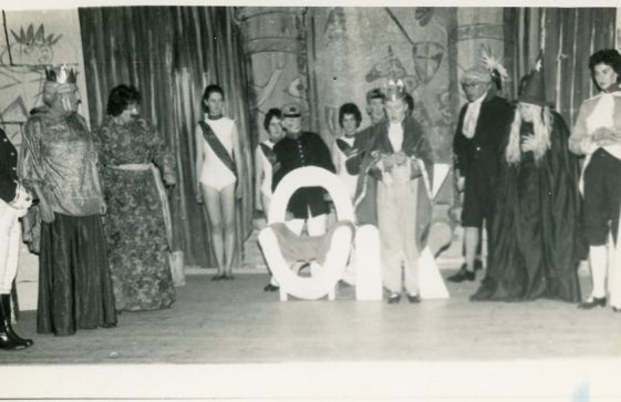 Scene from St Margaret's Players pantomime, unidentified