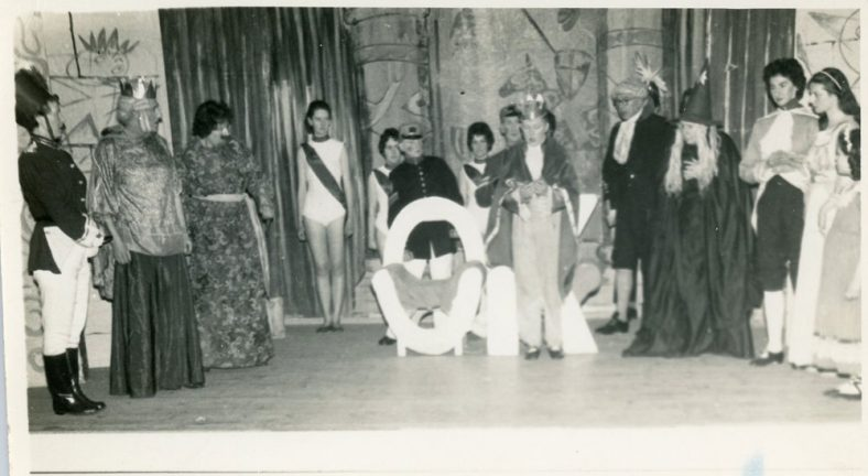 Scene from a St. Margaret's Players production of an unidentified pantomime