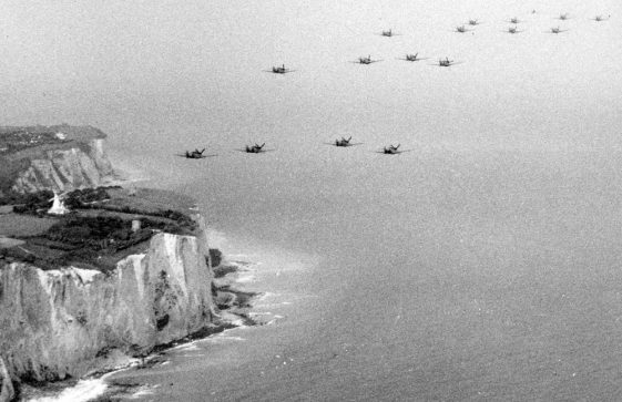 Scene from the film 'Battle of Britain'. 1968