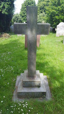 Gravestone of CASE Frederic 1904; CASE Henrietta Nicholson 1921