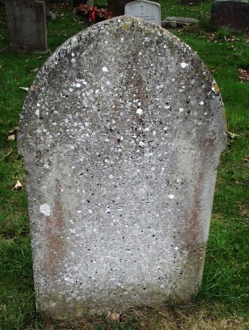 Gravestone of BELL Mary 1922; BELL James 1925