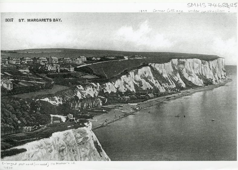St Margaret's Bay from Ness Point. 1899